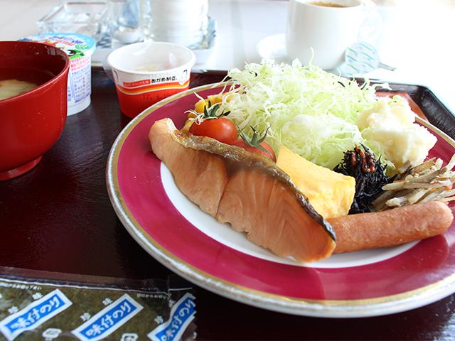 ホテルオークニの朝食