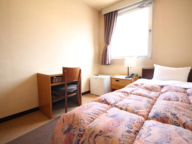 ホテルオークニのシングルルーム