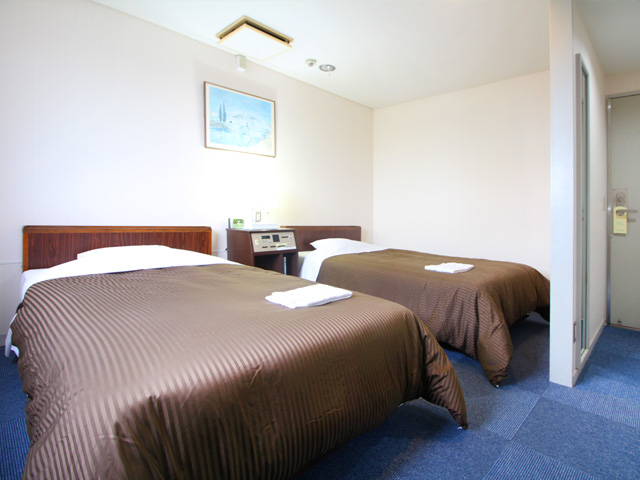 ロイヤルイン掛川(ステーションホテル2)のツインルーム